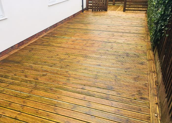 Decking Cleaning in Liverpool