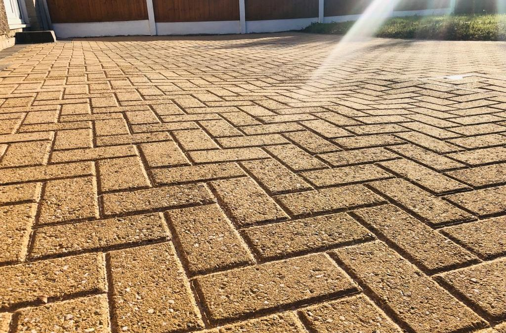 Block paving can be made to look special again