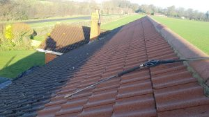 Roof cleaning Merseyside