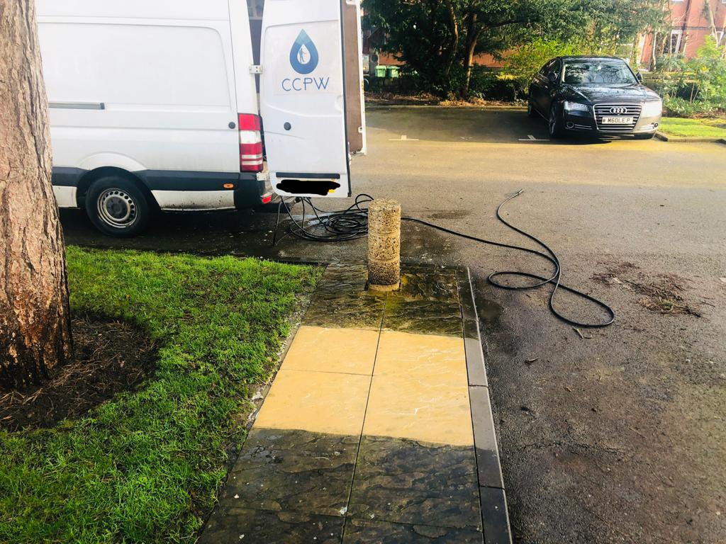 Commercial Pressure Washing in Liverpool